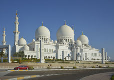 Mosque in Abu Dhabi Stock Images