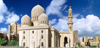 Mosque of Abu El Abbas Masjid, Alexandria, Egypt. Stock Photo