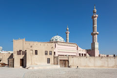 Mosque in Ajman Stock Image