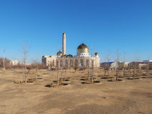 Mosque in Aktau. Royalty Free Stock Image