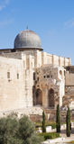 The mosque of Al-aqsa (The mosque of Omar). The mosque of Al-aqsa (The mosque of Omar or the Grey Cupola Stock Photography