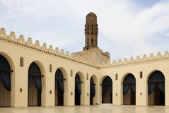 Mosque of Al-Hakim - Cairo Stock Image