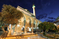 Mosque of Al-Jazzar in Acre ( also Akko ) in Western Galilee Royalty Free Stock Photo