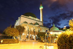 Mosque of Al-Jazzar in Acre ( also Akko ) in Western Galilee Stock Photography