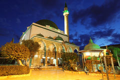 Mosque of Al-Jazzar in Akko Stock Photos