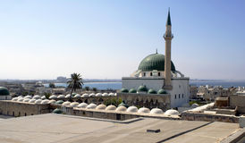 Mosque of Al-Jazzar Pasha Stock Photography