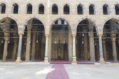 The Mosque of Al-Nasir Muhammad at the Citadel in Cairo Royalty Free Stock Images