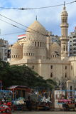 Mosque in Alexandria in Egypt Stock Photography
