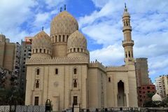 Mosque in Alexandria in Egypt Royalty Free Stock Photo