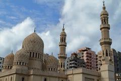 Mosque in Alexandria in Egypt Stock Photos