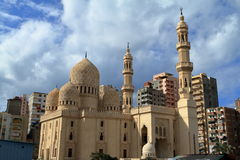 Mosque in Alexandria in Egypt Stock Images
