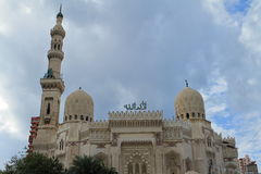 Mosque in Alexandria in Egypt Royalty Free Stock Photos