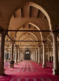 Mosque of Amr Ibn Al-Aas. The Mosque of Amr ibn Al-Aas, also called the Mosque of Amr, was originally built in AD 642, in the center of the capital of Egypt at Stock Photo
