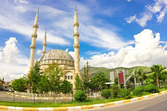 Mosque in Anamur royalty free stock photography