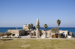 Mosque in ancient Caesarea Royalty Free Stock Images