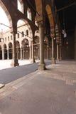 Mosque arcaded corridor Royalty Free Stock Image