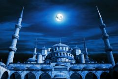 Mosque art stock photography
