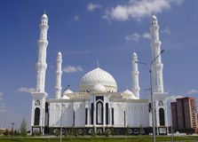 Mosque in Astana. Kazakhstan. Royalty Free Stock Image
