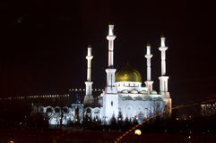 Mosque in Astana Royalty Free Stock Photos
