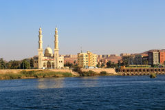 Mosque in Aswan Royalty Free Stock Image