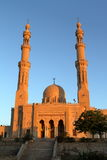 Mosque of Aswan in Egypt Royalty Free Stock Images