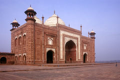 Mosque At Taj Mahal Stock Image