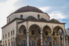Mosque in Athens. Tzistarakis Mosque on Monastiraki Square in Athens, Greece royalty free stock images