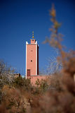 Mosque in the Atlas Mountains of Morocco Stock Images