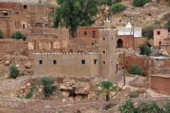 Mosque in Atlas mountains in Morocco Stock Photo