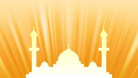 Mosque Background Stock Image