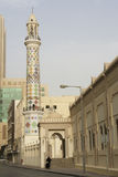 A mosque in Bahrain city center stock images