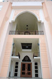 Mosque Baitul Izzah in Tarakan Indonesia Royalty Free Stock Photo