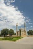 A mosque in Baku, Azerbaijan. Mosque with two minarets in Baku, Azerbaijan Royalty Free Stock Photography