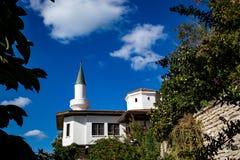 Mosque, Balchik, Bulgaria, partial view, autumn stock photography