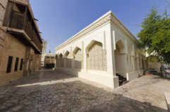 Mosque in Bastakiya District Stock Photo