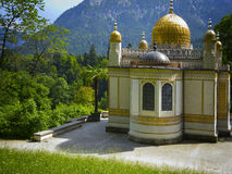 Mosque in bavaria. Look at a small mosque in Bavaria Royalty Free Stock Image