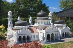 Mosque Bayturrahman Paradise, Indonesia.Klagenfurt, Minimundus. Austria Royalty Free Stock Images