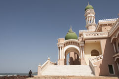 Mosque on the beach Royalty Free Stock Photo