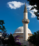 Mosque with beautiful sky. In the istanbul turkey Royalty Free Stock Photo