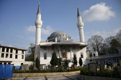 Mosque Berlin Royalty Free Stock Photography