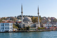 Mosque on the Bosphorus, Istambul Royalty Free Stock Image
