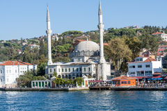Mosque on the Bosphorus, Istambul Stock Photos