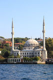 Mosque on the Bosporus, Istanbul Royalty Free Stock Photography