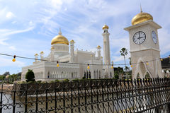 Mosque, Brunei. Mosque in Bandar Seri Begawan, Brunei Stock Images