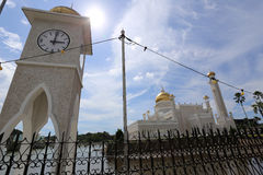 Mosque, Brunei. This photo was taken in Brunei Royalty Free Stock Images