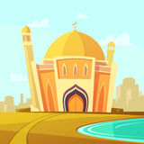 Mosque Building Illustration Stock Photography