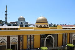 SABAH STATE MOSQUE royalty free stock images