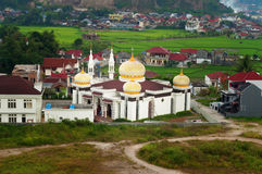Mosque in Bukittinggi stock photography