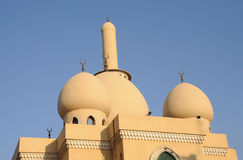 Mosque in Bur Dubai Royalty Free Stock Photo