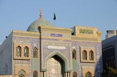 Mosque in Bur Dubai Stock Image